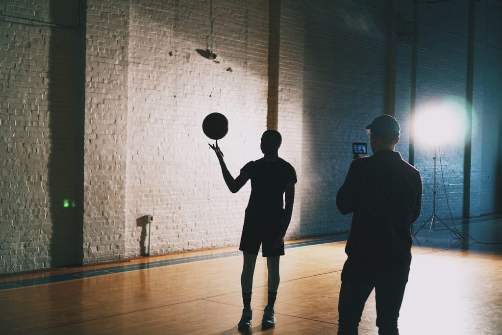 basketball short film light behind the scenes the film fund
