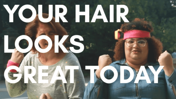 your hair looks great today webseries the film fund